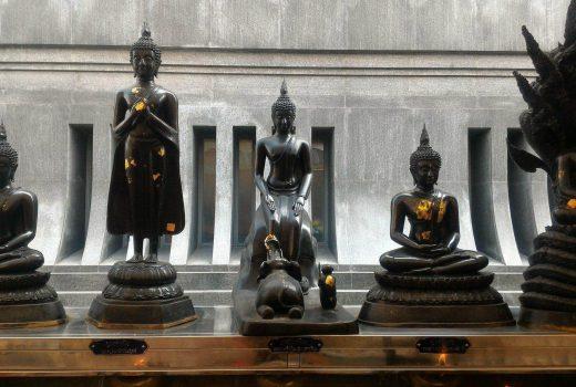 le posizioni del buddha - buddhismo