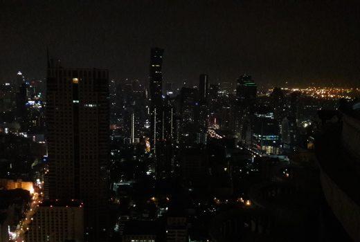 sky bar panorama di bangkok