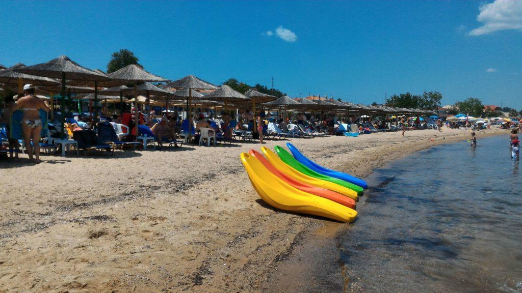 kassandra nea potidea beach
