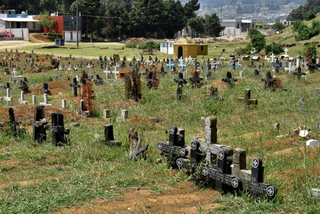 san juan chamula cimitero
