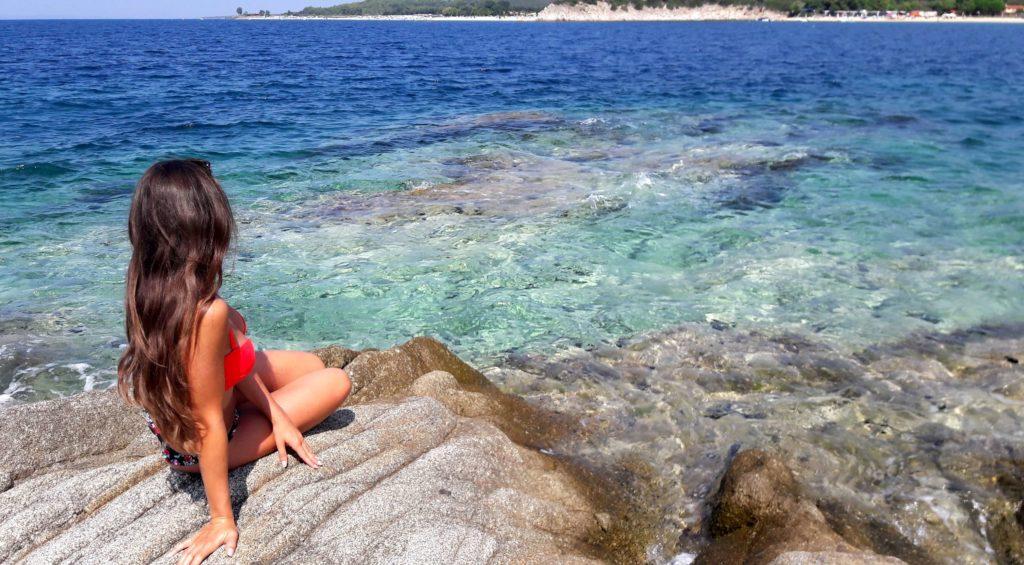 sithonia toroni spiaggia