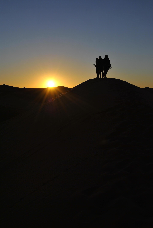 alba deserto sahara gruppo