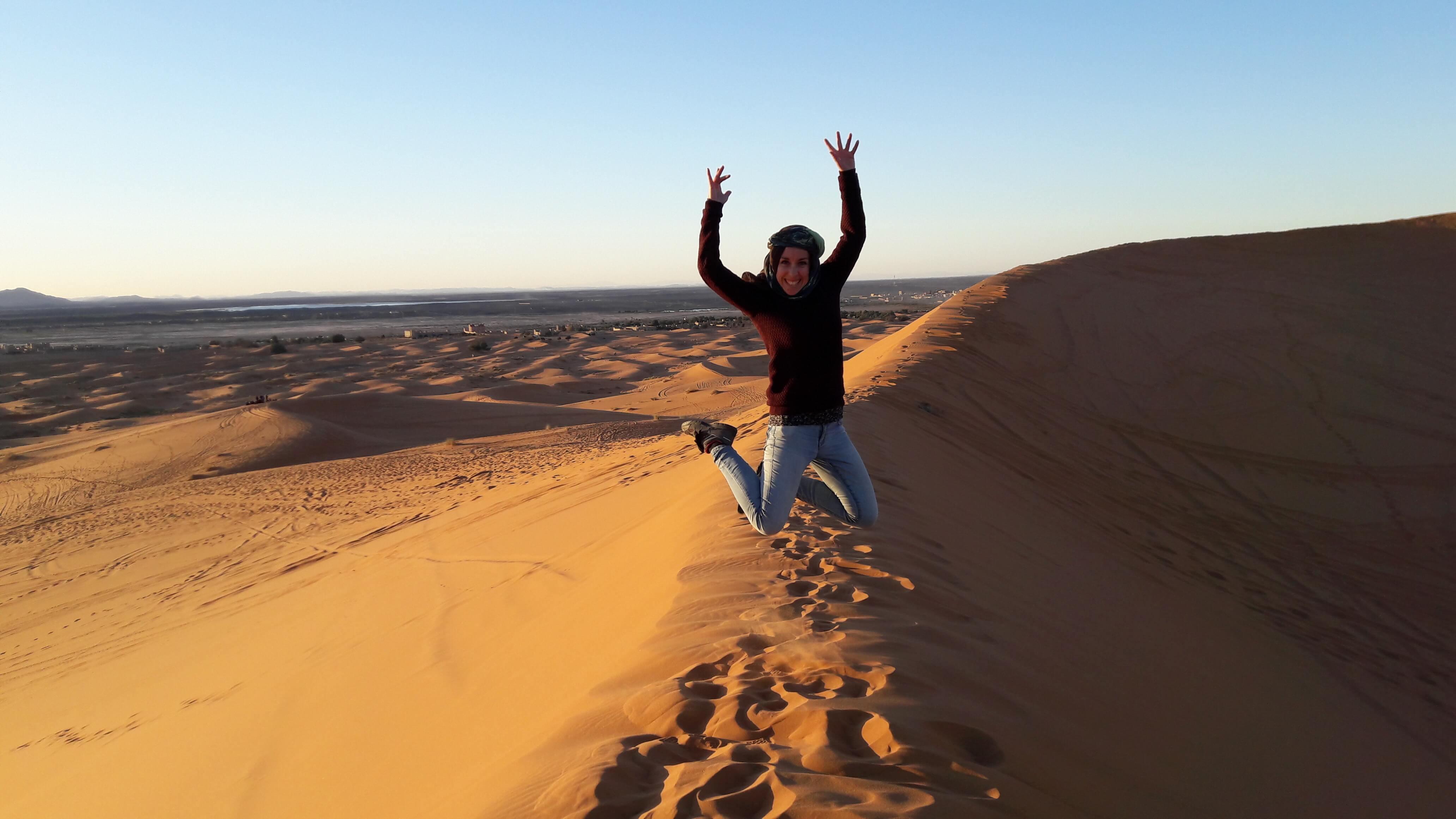 jump deserto sahara