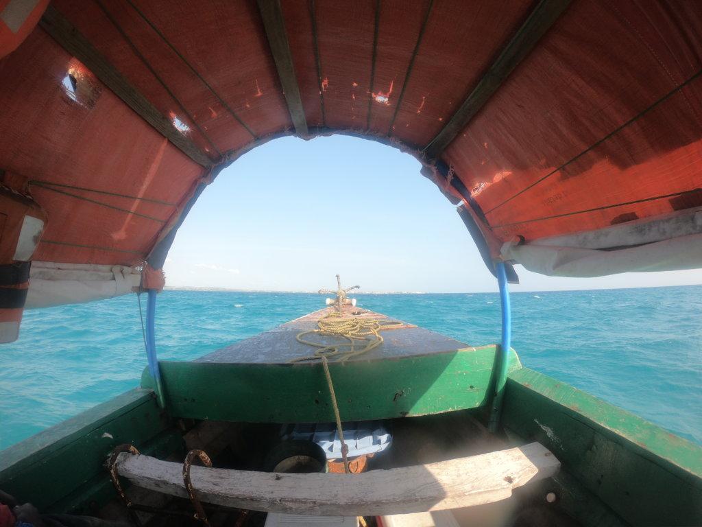 Spostarsi a Zanzibar in barca