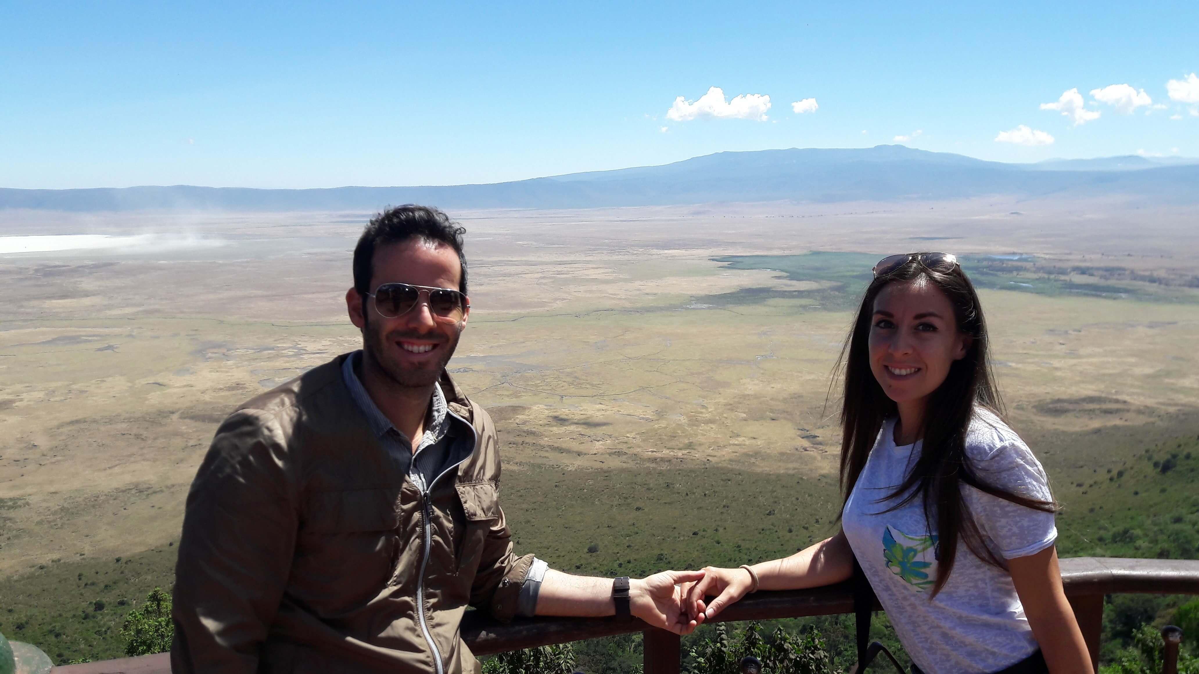 safari parco nazionale ngorongoro crater