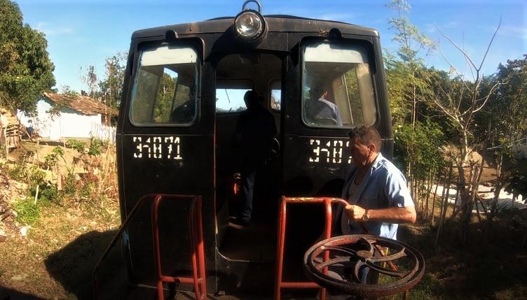 valle de los ingenios, locomotiva